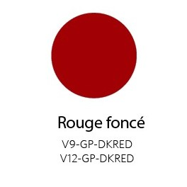 Vinyle Brillant Permanent Rouge Foncé