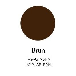 Vinyle Brillant Permanent Brun