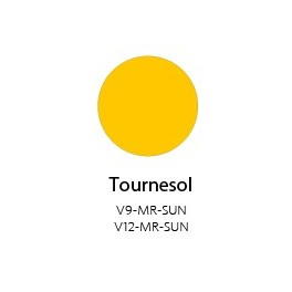 Vinyle Mat Semi-permanent Tournesol