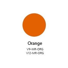 Vinyle Mat Semi-permanent Orange