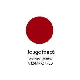 Vinyle Mat Semi-permanent Rouge Foncé